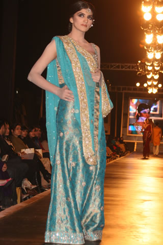 Exclusive Bridal Dresses from Bridal Couture Week Pictures - Mehdi Pakistani Designer Collection at Bridal Couture Week 2010