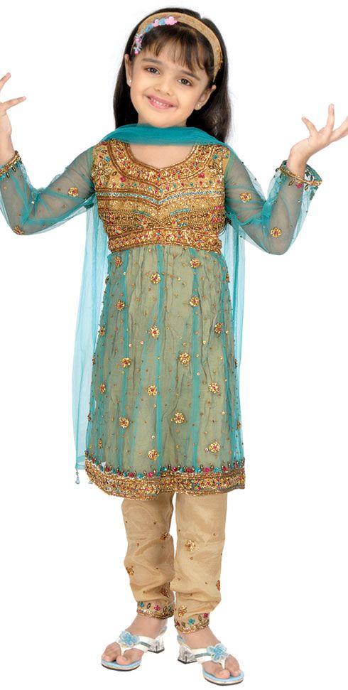 Fancy Kids Salwar Kameez Style For Eid Yusrablog Com