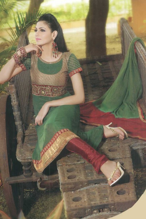 Fancy Shalwar Kameez For Eid: New Stylish Designs Collection