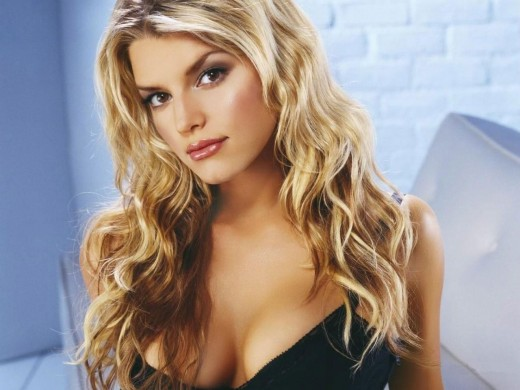 jessica simpson curly hairstyles. Jessica Simpson Curly