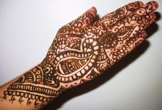 Mehndi For Eid : Eid mehndi designs for hands new unseen design
