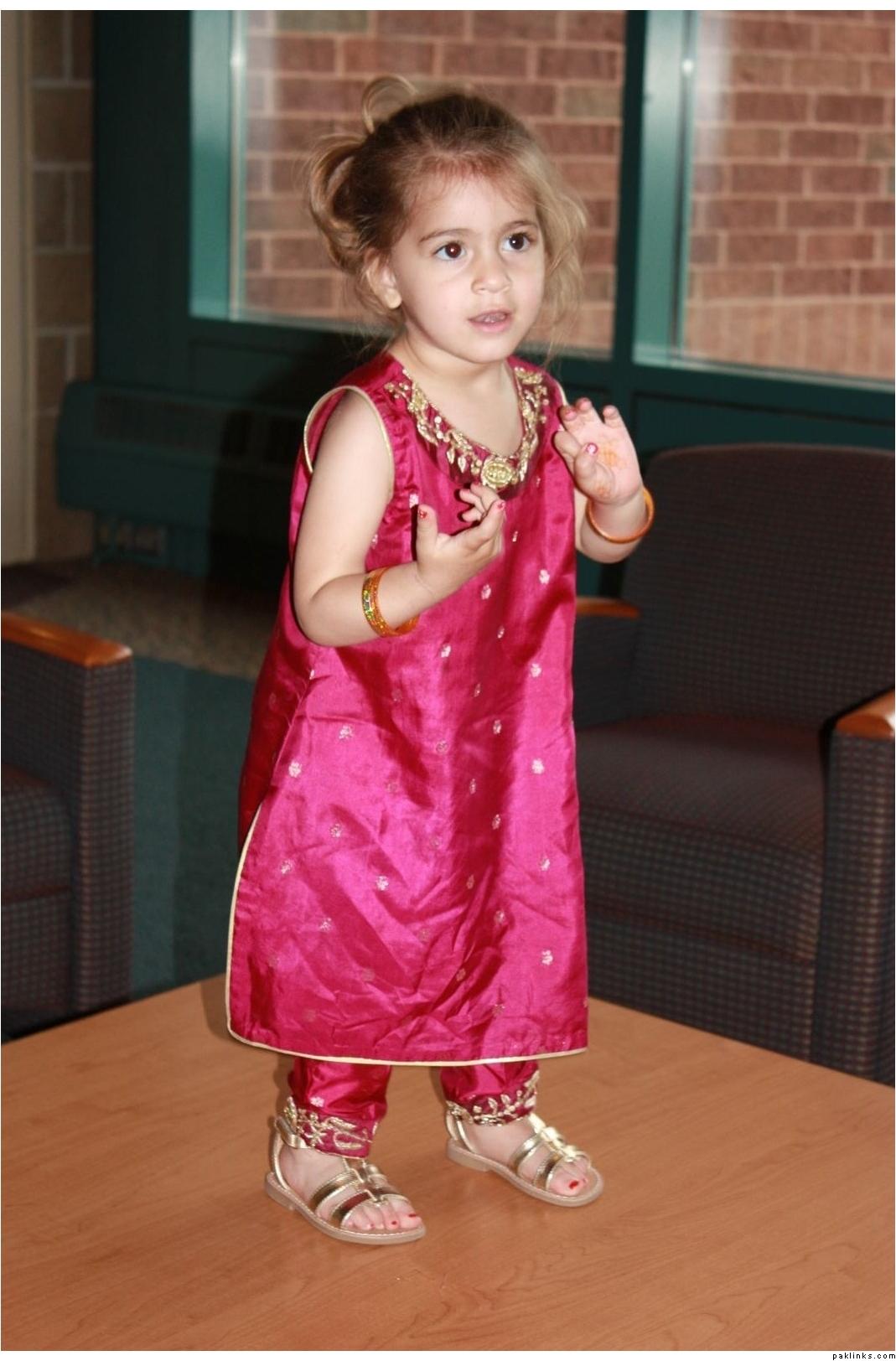 Eid Salwar Kameez For Kids: Showcase of Best Designs