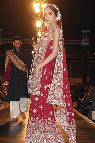 Mehdi Bridal Design Dress Collection - Mehdi Pakistani Designer Collection at Bridal Couture Week 2010