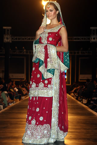 Mehdi Pakistani Designer Collection at Bridal Couture Week 2010