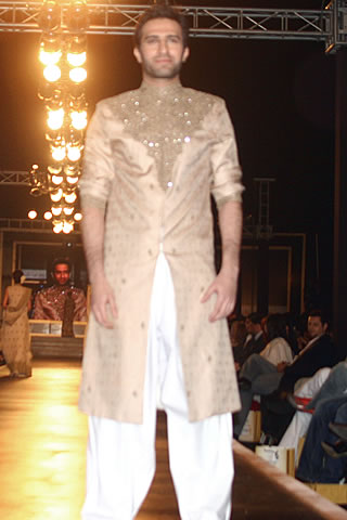 Mehdi Dulha Dresses Collection at Couture Week 2010 - Mehdi Pakistani Designer Collection at Bridal Couture Week 2010