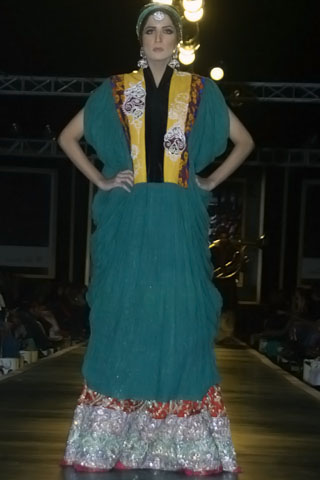 Most Beautiful Bridal Dresses from Bridal Couture Week 2010 - Ali Xeeshan Dresses at Bridal Couture Week 2010 in Lahore
