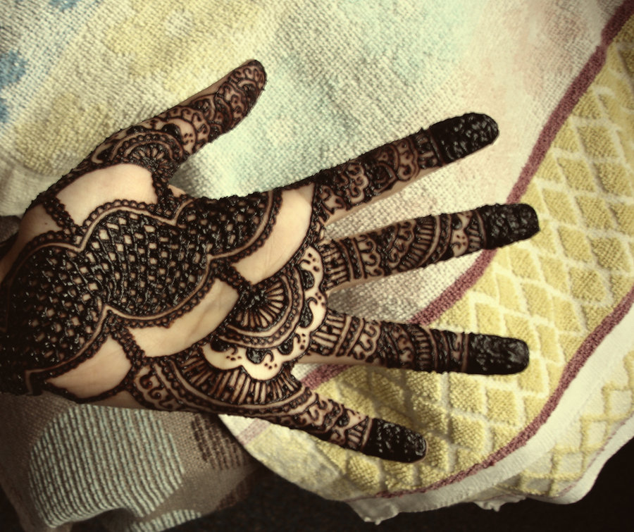 Mehndi For Doctors : Nice arabic mehndi design for eid yusra