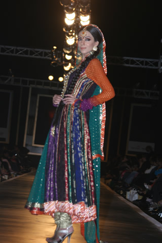Nomi Ansari Collection at Bridal Couture Week 2010 - Nomi Ansari Collection at Bridal Couture Week 2010 in Pakistan