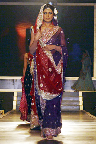 Outstanding Bridal Dresses from Couture Week 2010 - Mehdi Pakistani Designer Collection at Bridal Couture Week 2010