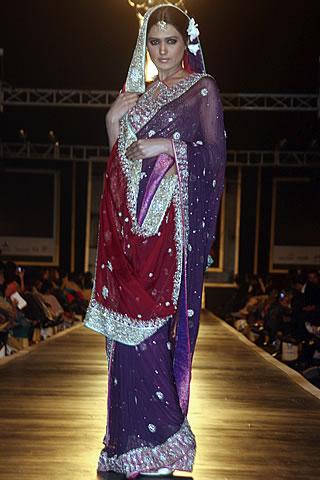 Pakistani Dress Designers on Mehdi Pakistani Designer Collection At Bridal Couture Week 2010