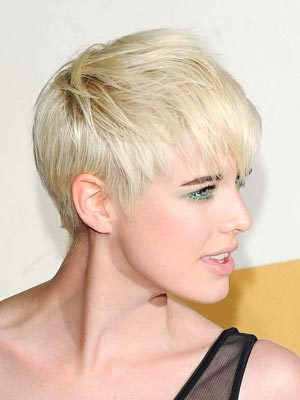 short haircuts for girls. Short Crop Prom Hairstyle