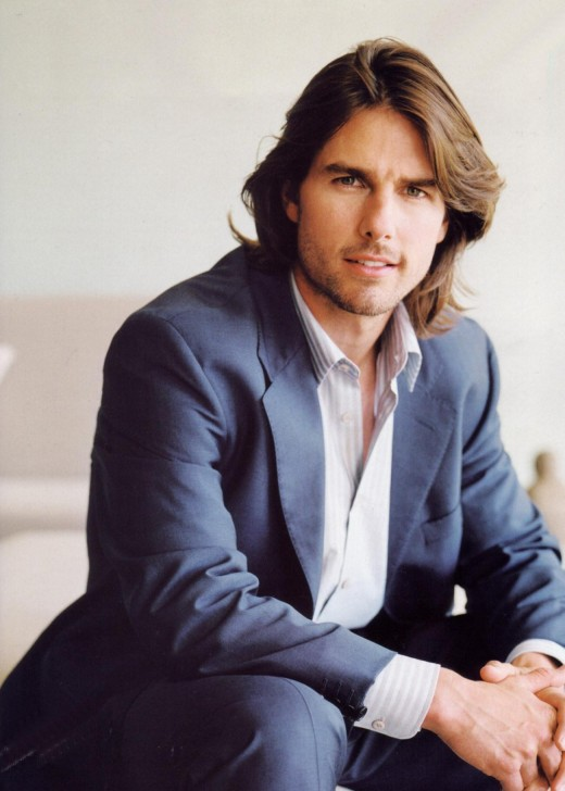 tom cruise long hairstyle. Tom Cruise Long Hairstyle