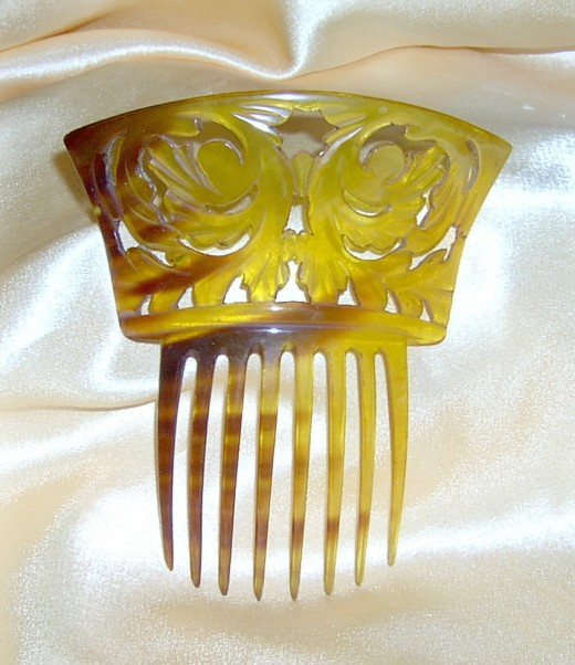 Unique Bridal Gold Hair Pin Gallery 520x602 - Bridal Gold Hair Combs: 15 Remarkable Collection