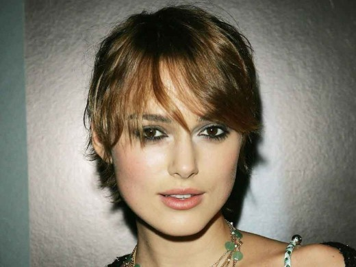 hairstyles keira knightley. tattoo Keira Knightley short