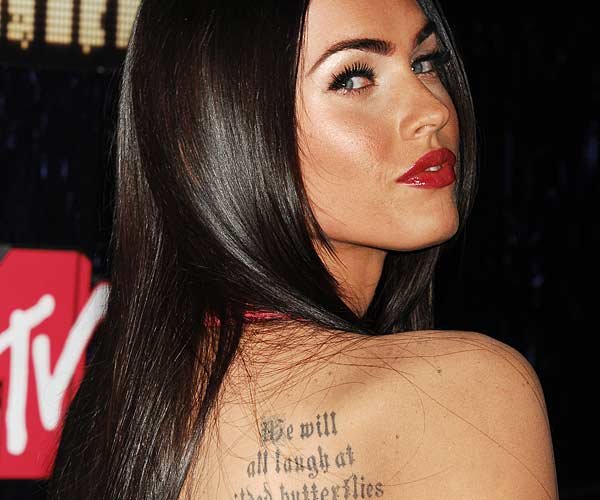 Be Like A Star With Actress Tattoo