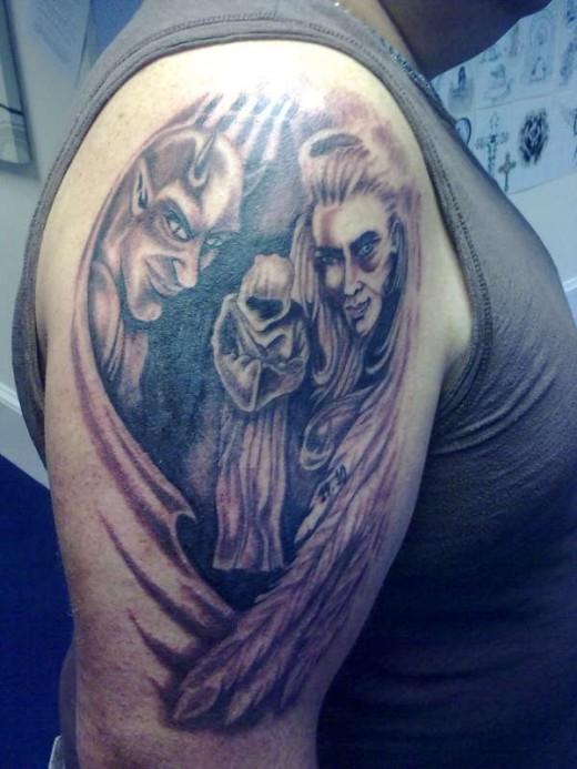Beautiful Examples Of Demon Tattoo Designs Yusrablogcom
