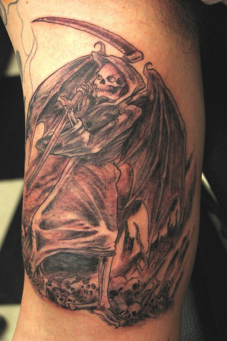 Death Tattoos Designs For 2011