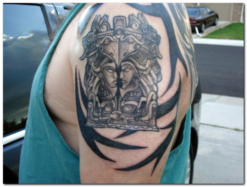 Aztec Tattoos Designs: Try This Now