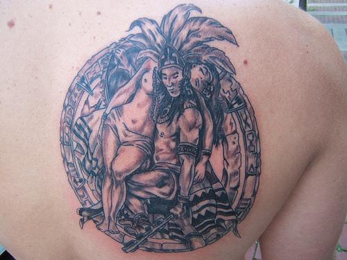 aztec tattoo designs. Aztec Tattoo Latest Design