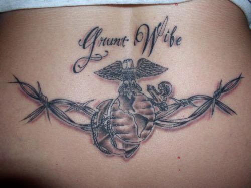 barbed wire tattoo designs. Barbed Wire Tattoo Latest