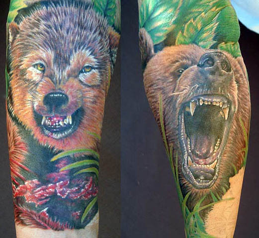 Bear Tattoo Designs: For Looking Strong And Powerful