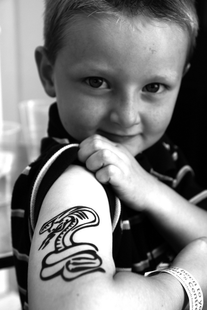 Simple Tattoo Designs For Kids 2011