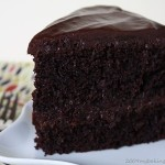 Delicious Black Chocolate Cake Recipe