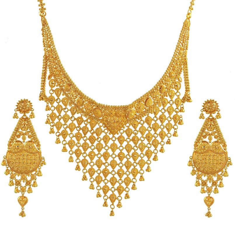 Bridal Gold Jewelery Collection For Pakistani Bridal