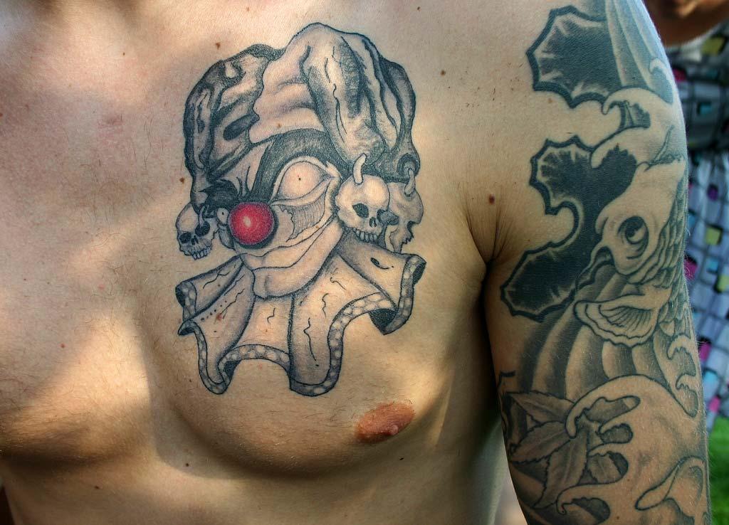 Clown Tattoo Latest Design For 2011