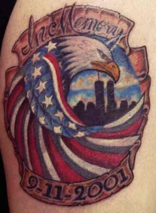 American Flag Tattoo Designs
