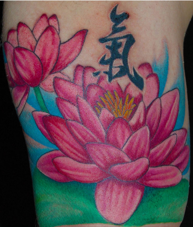 Epninumcont june 2012 cool louts flower tattoo mightylinksfo