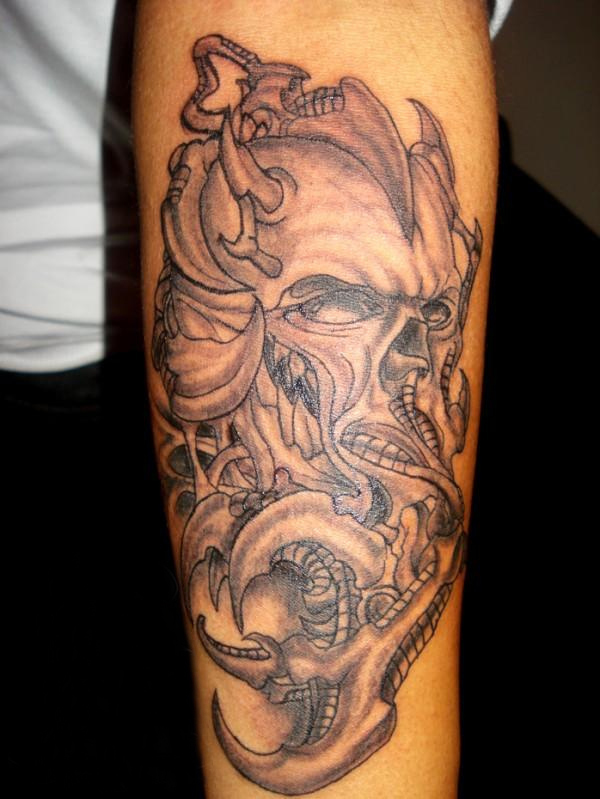 death tattoo designs for men - photo #13