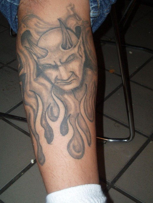 Outstanding Award Winning Devil Tattoo Designs Yusrablogcom