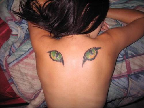 puzzle tattoo. Eye Tattoo Design for College