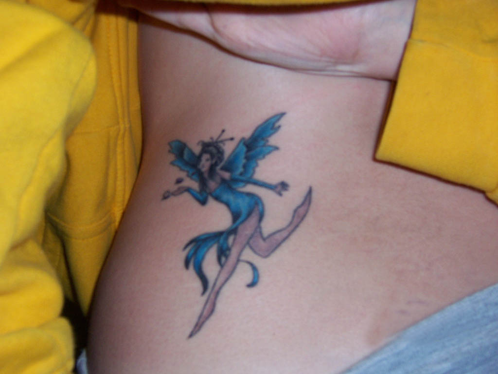 Fairy Tattoo Designs For Girls: It All About Beauty