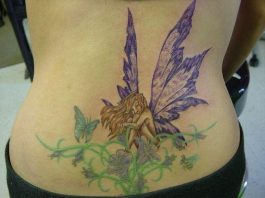 fairy tattoos designs. Best Fairy Tattoo Design for