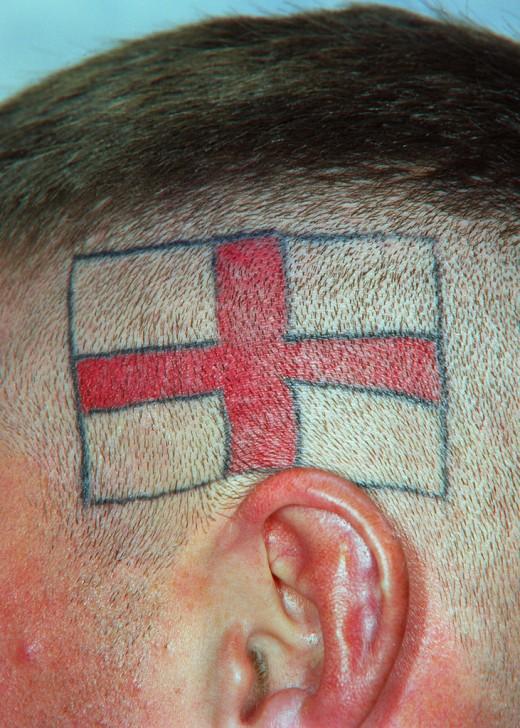 Beautiful Examples Of Flag Tattoo Designs Yusrablog Com