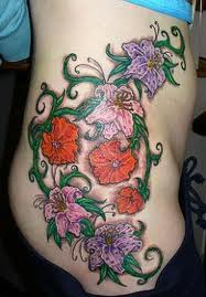Overview About Flowers Tattoo Designs