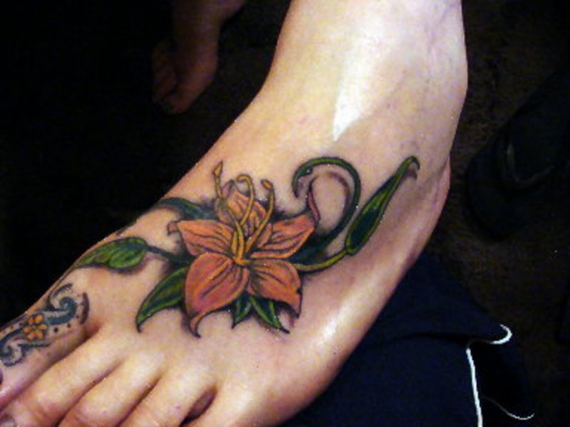 pictures of foot tattoos. More Stunning Foot Tattoo