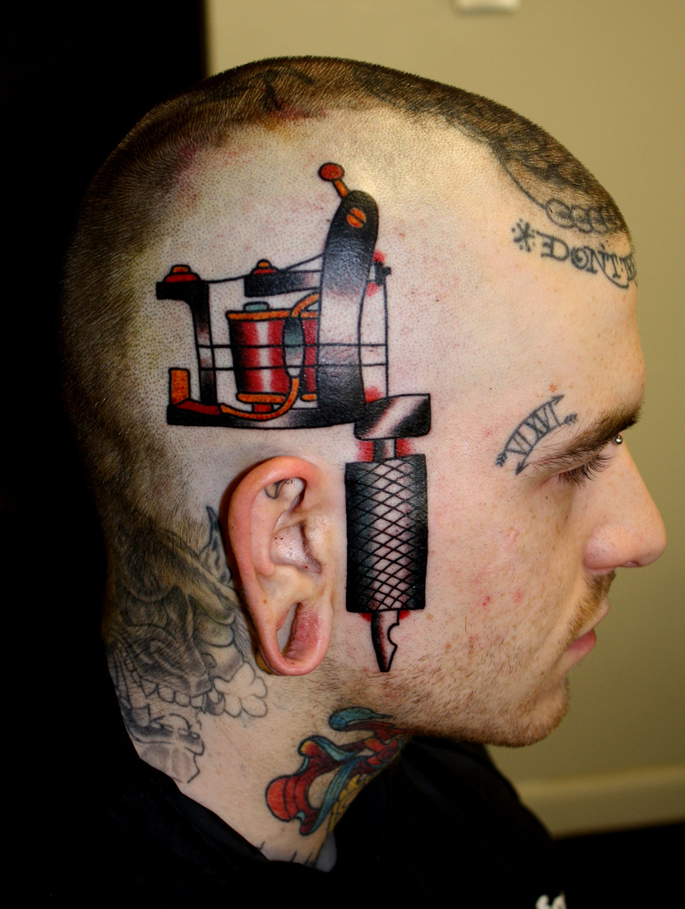 Head Tattoo Latest Trend Yusrablog Com