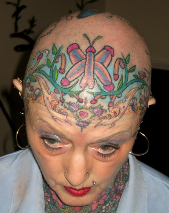 13 Outstanding Award Winning Head Tattoo Designs