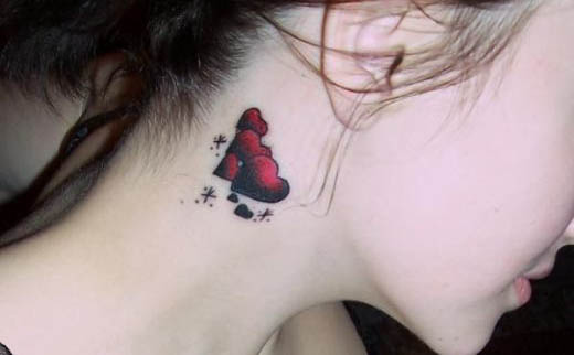 Beautiful Heart Tattoo Design For Girls: The Sing of Love