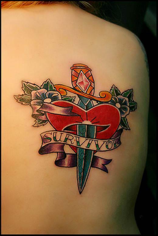Heart Tattoo On Palm. Small Heart Tattoo Design