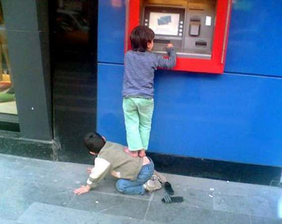 How To Use Daddy's ATM Card: Best Way