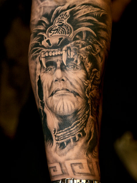 cool design tattoos. Cool Biker Tattoo Design