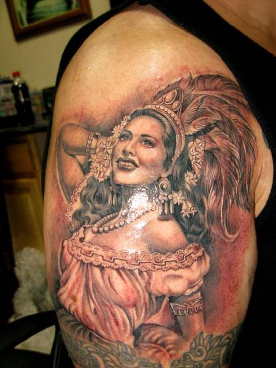 Elegant Mexican Tattoo Design For 2011 Latest Mexican Tattoo Design