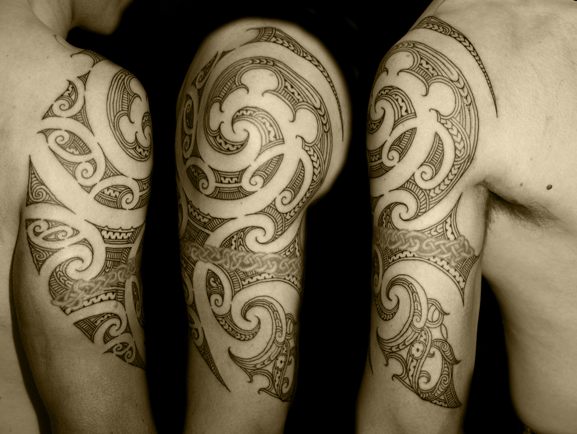 interesting maori tattoo designs for 2011 maori tattoo for arm. Black Bedroom Furniture Sets. Home Design Ideas