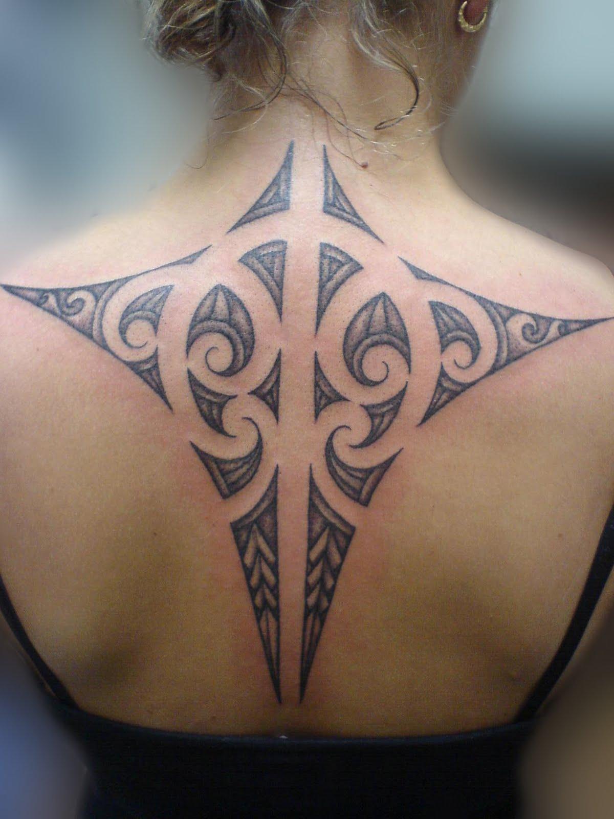 Interesting Maori Tattoo Designs For 2011 Maori Tattoo for Girls Back - YusraBlog.com
