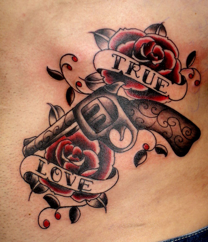 Beautiful Old School Tattoo Designs Around The World