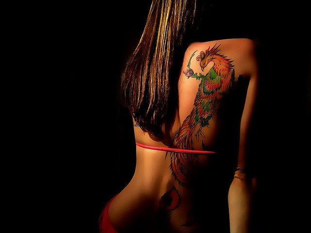 Breathtaking Phoenix Tattoo Designs For Women